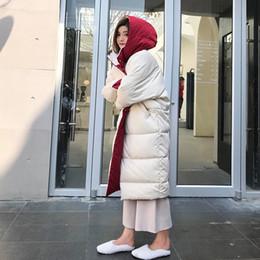 Doppelseitiges Jacke Damen zermürben X long over the Knee 2019 Winter neuen Stil der koreanischen Stil lose dicken Mantel Little Red Riding