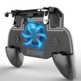 2019 novos sistemas de jogos Ventilador de Refrigeração SR Gamepad Pubg Controlador Telefoon Aperto De Mão Gampads Gatilho Inteligente Gatilho Jogo Fire Doel Sleutel Voor PUBG