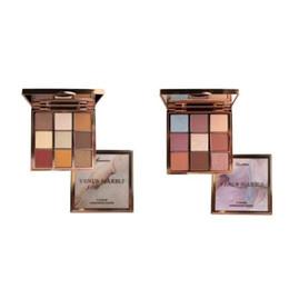 Фондовый новый горячий макияж палитра Венера мрамор 9colors тени для век палитра глаз косметика Маммонизм / романтизм 2 стили DHL доставка от
