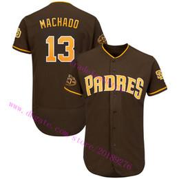 fa344326a 50th Anniversary Patch 13 Manny Machado 30 Eric Hosmer 4 Wil Myers Austin  Hedges Tony Gwynn Mens Womens Kids Youth San Diego Padres Jerseys