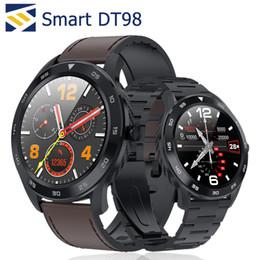 Synchronisierung sehen iphone online-DT98 Smartwatch Armband Bluetooth Anruf Sync Smartphone EKG Gesundheit IP68 wasserdichte Alipay Smart Watch Remote-Foto für Android iPhone