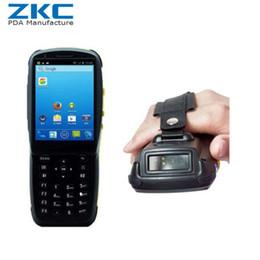 lettore dito Sconti Android palmare Bluetooth mobile astuto 3G WiFi 5.1 Barcode Scanner pda ZKC3501