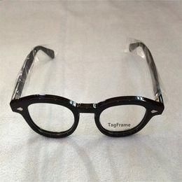 2020 montures pour verres correcteurs TagFrame New Fashion Johnny Depp Lunettes de qualité supérieure de marque Lunettes rondes Cadre LEMTOSH Wider promotion montures pour verres correcteurs
