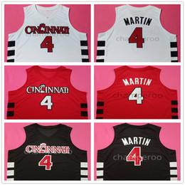 a867ed094 jerseys de baloncesto 5xl Rebajas Kenyon Martin   4 Cincinnati Bearcats College  Retro Basketball Jerseys Para