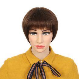 Short Straight Hairstyles For Black Women Online Shopping