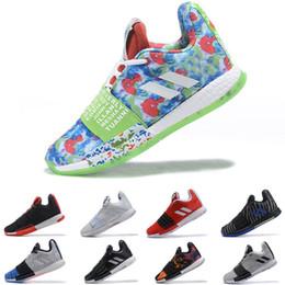 оптовая продажа био коробки Скидка Adidas james harden 3 vol.3 III мужская баскетбольная обувь высокого качества Спортивные кроссовки размер 40-46