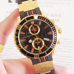 Relógios aaaa on-line-Relojes Relojes, a marca de topo do relógio de quartzo de aço inoxidável dos homens da classe AAAA 2019, é um relógio de luxo de 6 pinos