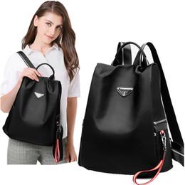2019 damen freizeit rucksack Freizeitreisetasche Neue modische einfache Baita Lady einbruchhemmender Rucksack Mode Oxford Umhängetasche rabatt damen freizeit rucksack