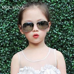 Óculos bonitos quadros marcas on-line-2019 nova marca crianças óculos de proteção óculos de sol retro liga quadro moda meninas óculos de sol bonito legal meninos criança óculos eyewear uv400