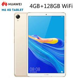 tableta china teléfono sim Rebajas 2019 nueva llegada HUAWEI M6 Android 9.0 Tablet PC de 8,4 pulgadas de 128 GB 4 GB + WiFi Kirin980 Octa Core juego de Google 6100mAh 2560x1600 tipo C
