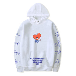 Kpop homens s casacos on-line-NEW 2019 BANANA tendência hert moda Quente Hoodies Moletons Mulheres / Homens Kpop Hip Hop tendência sala quente Moda Hoodies casacos