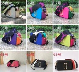 Alta qualidade superior venda saco crossbody couro correspondência de cores saco da câmera europeu e americano bolsa de couro de moda mini-ombro saco da câmera de