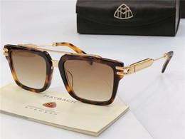 All'ingrosso-Top occhiali da uomo di lusso THE ACE marca Maybach occhiali da sole firmati quadrati K montatura in oro di alta qualità occhiali da vista uv400 da esterno cheap aces glasses da occhiali da asso fornitori