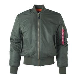 Giacca tattica da windbreaker online-Nuovo MA1 pilota tattico mens giacche firmate bomber giacca a vento ricamo da baseball sezione militare giacca da uomo S-XXL