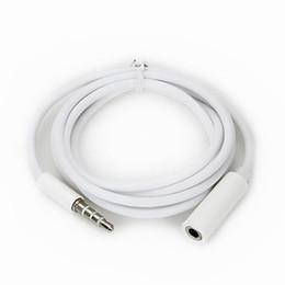 cavo dc per hp Sconti Cavo audio stereo da 3,5 mm a 4 poli maschio-femmina per prolunga ausiliaria per cuffie iPad iPhone iPod Samsung Aux