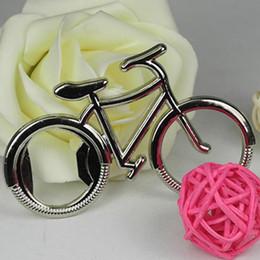 apri di bottiglia a forma di animale Sconti Carino moda bici bicicletta metallo birra apribottiglie portachiavi portachiavi per bici amante biker regalo creativo per il ciclismo DH0248