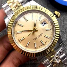 2019 relógios originais 18 cor de luxo relógio mecânico automático Assista Homens Datejust Inoxidável Original ClaspPresident Moda Desinger Mens Relógios desconto relógios originais