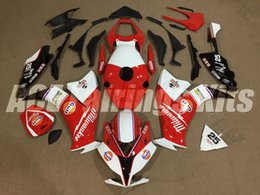 2019 kits de corpo honda fit Novos kits de Carenagem de Motocicleta ABS + Tampa do tanque Apto Para HONDA CBR1000RR 12 13 14 15 16 2012 2013 2014 2015 corpo conjunto personalizado Carenagem vermelho branco 25 desconto kits de corpo honda fit