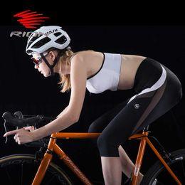 frauen radfahren strumpfhosen Rabatt Rion Outdoor Sport Frauen Radfahren Shorts Mtb Downhill Mountainbike Fahrrad Shorts Weibliche Jersey Unterwäsche Strumpfhosen Gel Pad Shorts
