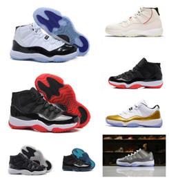 2019 caixa de sapatos gama Novas 11s tênis de basquete Gamma azul Concord Space Jam Bred Legend alta dos homens mulheres de baixo 2019 barato do desenhador 11 Shoes Sapatilhas com Box caixa de sapatos gama barato