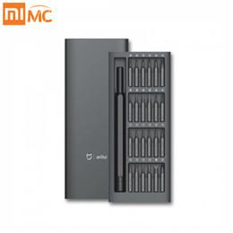 Xiaomi Mijia Wiha Kit uso quotidiano 24 pezzi magnetici di precisione Alluminio Box cacciaviti Xiao Mi kit casa intelligente Nuovo da