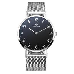 Marcas de relógios japonês on-line-New amantes chegada relógios de pulso japonês movimento de quartzo relógio de moda Kevin Grow KG relógios de pulso marca