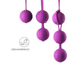 Kegel produtos para mulheres on-line-All-wrap gel fácil de limpar produtos de produtos de recuperação auxiliar de produtos de bola de kegel vaginal haltere brinquedos sexuais flertando