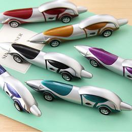 10 Teile satz Lustige Neuheit Design Racing Car Shaped Kugelschreiber Büro