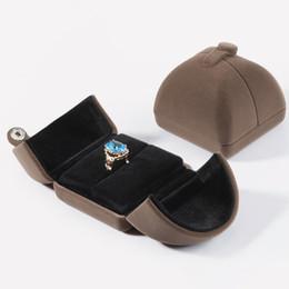 conjuntos de colares modernos Desconto Moderno elegante de veludo de jóias caixa de armazenamento, cadeia longa colar, pulseira, pingente, Orelha gota jóias de casamento set Grey Show Case