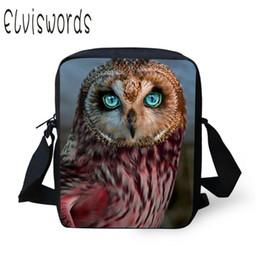 2019 bolso del cuerpo de la cruz del animal del búho 2019 Owl Women Messenger Bags Kids Bandolera de Hombro Niñas Cross Body Bag Cute Animal Mujer Messenger bolso del cuerpo de la cruz del animal del búho baratos