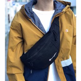2019 loja de telefone nova 5 Cores Campeões Fanny Pack Letras Oxford tecido Sacos de Cintura Zíper Unisex Cinto Saco Peito Bumbag Telefone Bolsa Cross Body Shop Saco novo C3278 loja de telefone nova barato