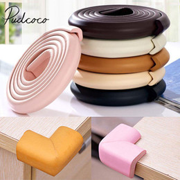 FM/_ AU/_ 2m Kids Baby Safety Table desk Edge Corner Cushion Guard Strip Protector