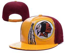64b87c342a6fc8 red-skin snapback cap football team snapback hat rugby football cap visor  custom hats basketball team baseball headgear