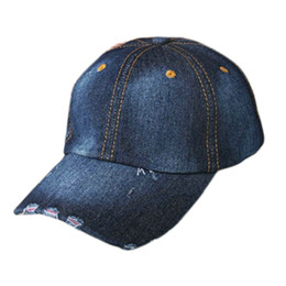 5c8ab025544c9 2019 mujer denim sombrero Summe snapback gorra de béisbol para hombres