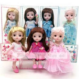 eb131e1375e 3d doll eyes Canada - 3D simulation eye dressing doll Non-bjd Change makeup  doll