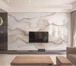 мраморная наклейка Скидка Абстрактная печать коричневая текстура мраморные обои фрески 3d обои для гостиной мраморные обои 3d обои стикер
