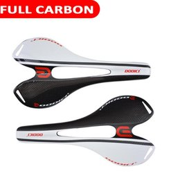 Nova sela de carbono on-line-2020 Novo Design Full Carbon bicicleta Saddle Super Light Ampla Modelo comum usado para MTB Moutain Bike Racing Matte e assento Glossy
