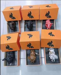 taschenlampe schlüsselhalter Rabatt Neueste Schlüsselanhänger-Geldbeutel-Anhänger-Taschen Dog Design Autos Ketten-Schlüsselringe für Frauen Geschenke Frauen Acryl High Heeled Keychain keine Box