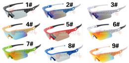 Тонкие стекла онлайн-Летний новый МОДА menDazzle цвет drving солнцезащитные очки женские очки Велоспорт Спорт На Открытом Воздухе Солнцезащитные Очки Fine frame 6 цвет бесплатная доставка