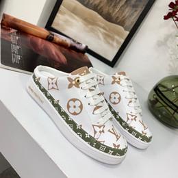 Модные роскошные дизайнерские женские сандалии высокого качества, тапочки Классический бренд с принтом из кожи, полутапочки, повседневная обувь Мокасины 35-41 с коробкой от Поставщики ярко-розовый бандана