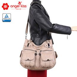 2019 cuoio grande borsa hobo Borsa a tracolla Angelkiss per donna con tracolla a tracolla per donna cuoio grande borsa hobo economici