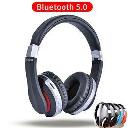 Canada Mh7 Casque Sans Fil Bluetooth Casque Pliable Stéréo Gaming Écouteurs Avec Microphone Support Tf Carte Pour Ipad Mobile Téléphone T6190617 cheap ipad headset microphone Offre