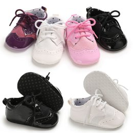 Chicas Bebé Suela Suave Cinta Encaje Bautizo Boda Cochecito Zapatillas Zapatos Talla