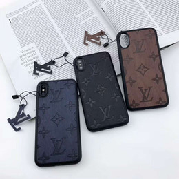 billige nextel telefone Rabatt 19SS Luxury Phone Case für IPhoneX / XS XR XSMAX IPhone7 / 8plus 7/8 6 / 6s 6 / 6sP Frankreich Designer Flower Style Phone Cases 7 Stil