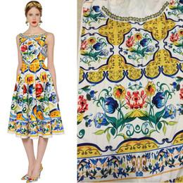pizzo africano brillante Sconti 165X145cm Settimana della moda Situato in Cina Ceramica Pittura Maiolica stampe imitare tessuto di seta satinato per abiti lunghi donna