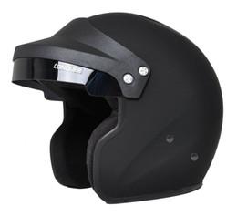 2019 cascos ls2 rojos Conquer Snell SA2015 aprobado cara abierta casco de carreras