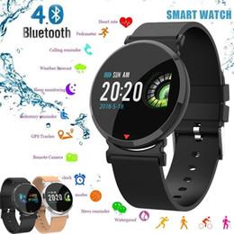 0e96a03fccae Marca nueva moda Reloj inteligente Hombres Fitness Tracker HD IPS Pantalla Pulsera  inteligente Monitor de ritmo cardíaco Pulsera inteligente a prueba de ...