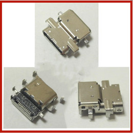 conectores de carregamento para laptop Desconto Laptop DC Power Jack DC Jack Conector Tomada ficha de carregamento porta para Lenovo ThinkPad E480 E485 E580 R480 TYPE-C