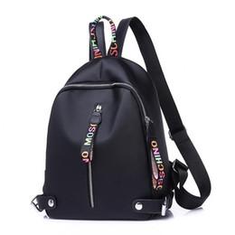 mochilas para as mulheres negras bonito Desconto Petminru New Hot Mulheres Mochila Canvas Preto Grande Capacidade Sacos para Adolescentes Senhoras Bonito Mochila Mochilas Pequena Mochila