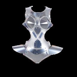 costume in tuta argentata Sconti Costume da ballo di moda donne tuta d'argento DJ DS tuta per cantanti che eseguono indossare pole dance gogo ballerino outfits DC1022